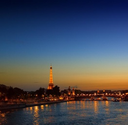 Sunset, La Tour Eiffel