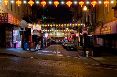 Empty Chinatown