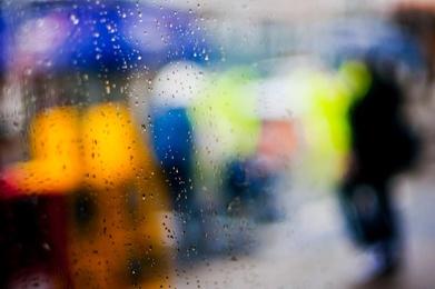Window Water Drops