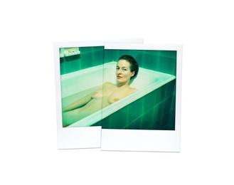D in Bathtub, Hotel Gellert, Budapest 1986