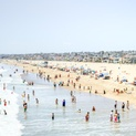 Group Swim Time - Hermosa Beach