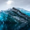 Flipped Iceberg in Antarctica 3