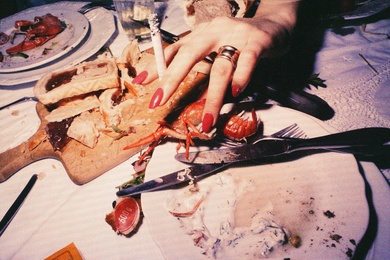BB Eating Crayfish, 1988
