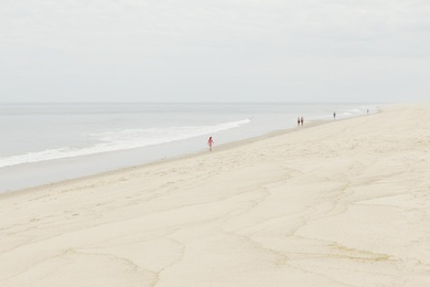 Cape Cod Beachgoers