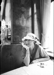 D in Cafe in Vienna, 1988