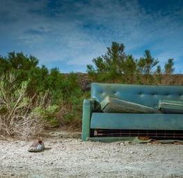 Mystery Couch - Salton Sea