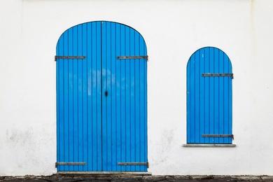 Alghero Blue Door