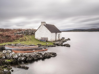 Connemara Fishing Hut Study 1 - Co. Galway