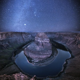 An Evening at Horseshoe Bend