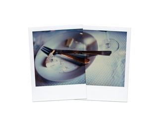 Fourchette Et Couteau Avec Un Reste De Fromage, Castellane 1988