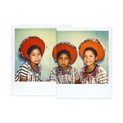 Three Young Lasses, Santiago Atitlán, Guatemala 1980