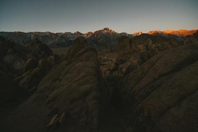Sierra Mountain Sunrise
