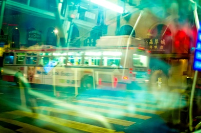 Bus Passing in the Night