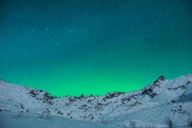 Aurora Show in Hatcher's Pass
