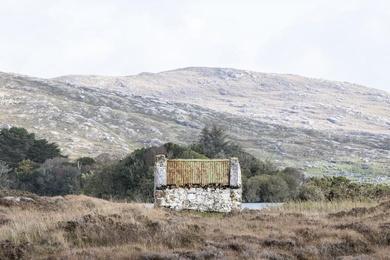 Connemara Fishing Hut Study 6 - Co. Galway