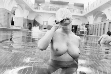 Woman With Bathing Cap, 1980
