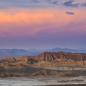 Valle De La Luna at Sunset
