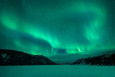 Auroras in the Northern Rockies