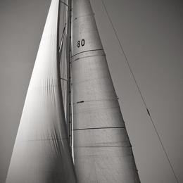 Sail Abstract V, Cote D'Azur