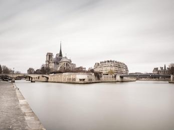 Seine and Notre - Dame - Paris, France
