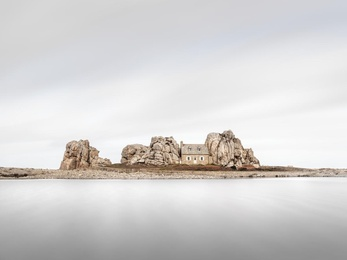 House Between Rocks - Brittany, France