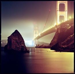 Below the Golden Gate