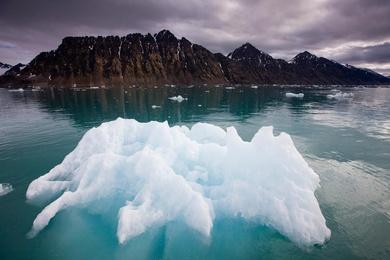 Glacial Iceberg