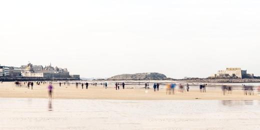 Low Tide - Saint Malo, France