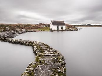 Connemara Fishing Hut Study 3 - Co, Galway