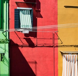 Venetian Fishing Village of Burano, Italy