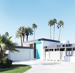 The Real Aqua Doors of Palm Springs