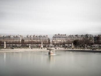 Tuileries Fountain - Paris, France