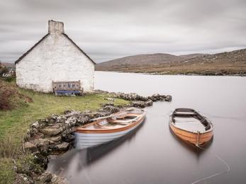 Connemara Fishing Hut Study 8 - Co. Galway