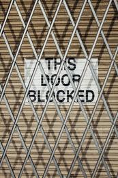 This Door Blocked I