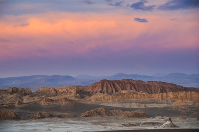 Valle De La Luna at Sunset