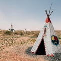Four Tepees