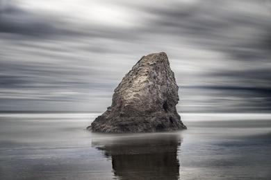 Seaside Creek Rock Study 1 - Mendocino