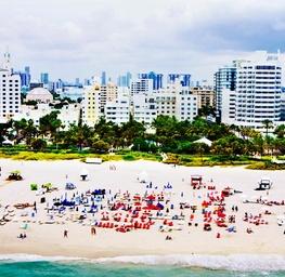 South Beach Aerial, Cityscape