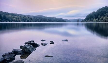Dawn at Lake Vyrnwy