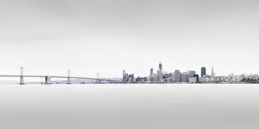 San Francisco & Bay Study 3 Panoramic