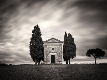 Vitaleta Chapel - Tuscany