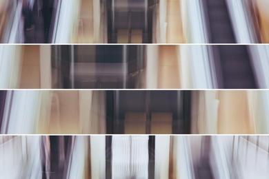 Escalators Abstract