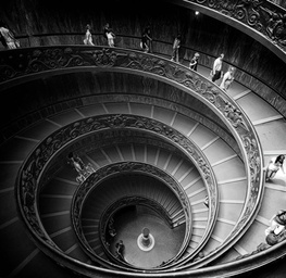 The Great Stairway - Black & White